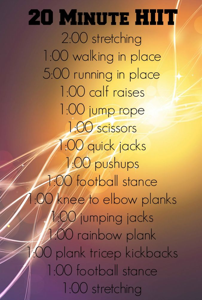 revised hiit