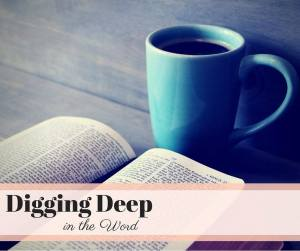 Digging Deep in the Word {Prayer Journals}