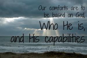 God's capabilities